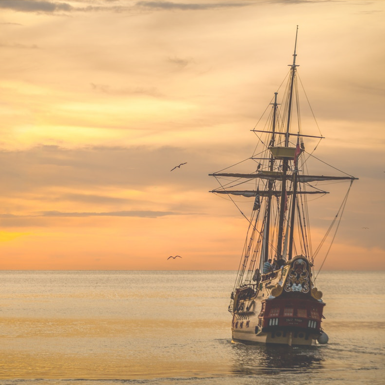 sunset-boat-sea-ship-37730_03